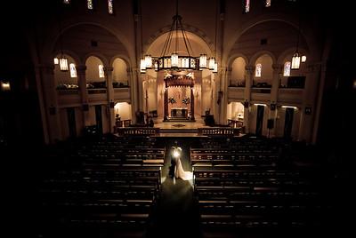 Melissa & Kenny - church wedding