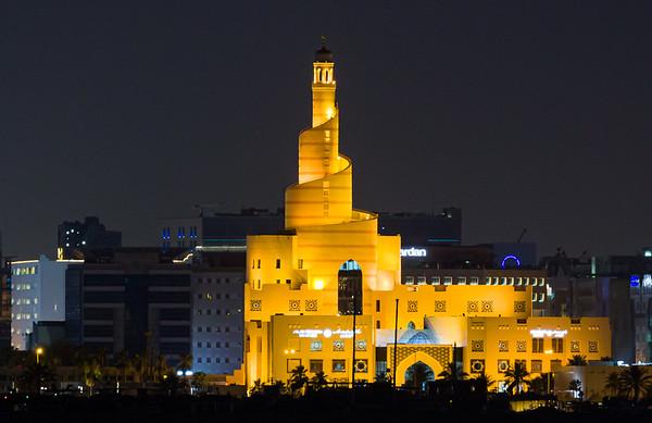 Qatar 2021 Doha Nightscapes