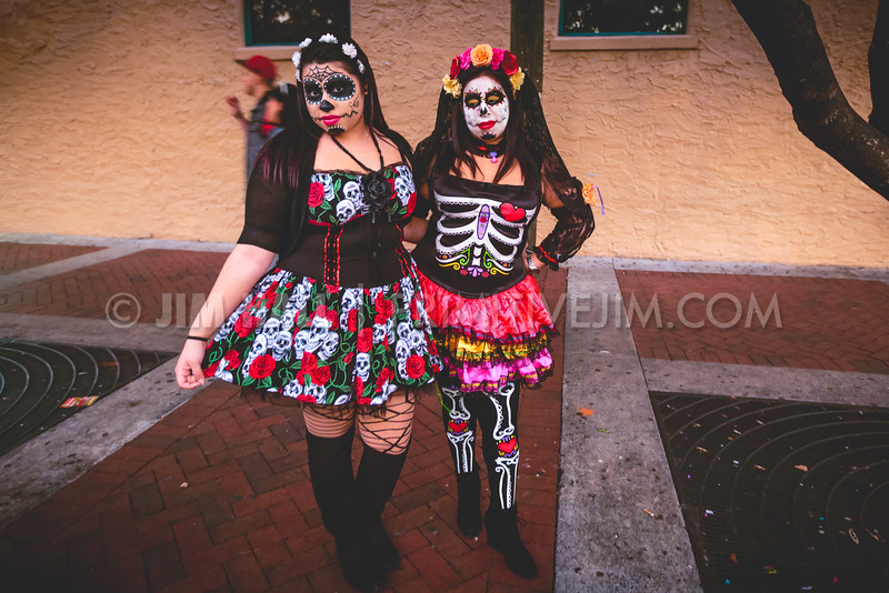 South Florida Day of the Dead Celebration, Downtown Fort Lauderdale, November 2nd, 2014
