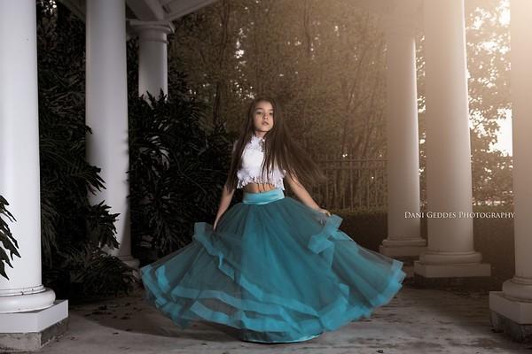 Blue Love Baby J - Orlando - Dani Geddes