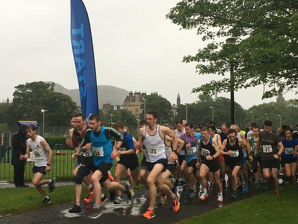 Sri Chinmoy 5k Race, Wed 12 June 2019 Edinburgh