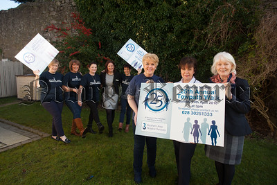 Pictured at the launch of teh Southern Area Hospice Tow Path Walk are, Deborah Kennedy Walk Organiser and her team along with Ann Cooney CEO, Soibhan McArdle and Marieann Barry from the Southern Area Hospice. R1608016