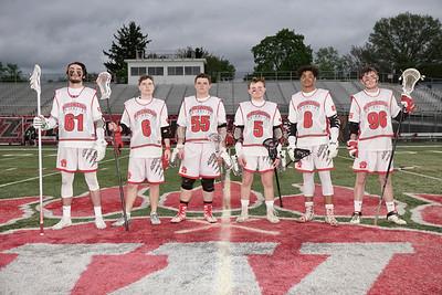 WHS Boys' Lacrosse Senior Night '19