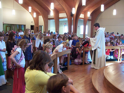 Blessing of the Backpacks 2012