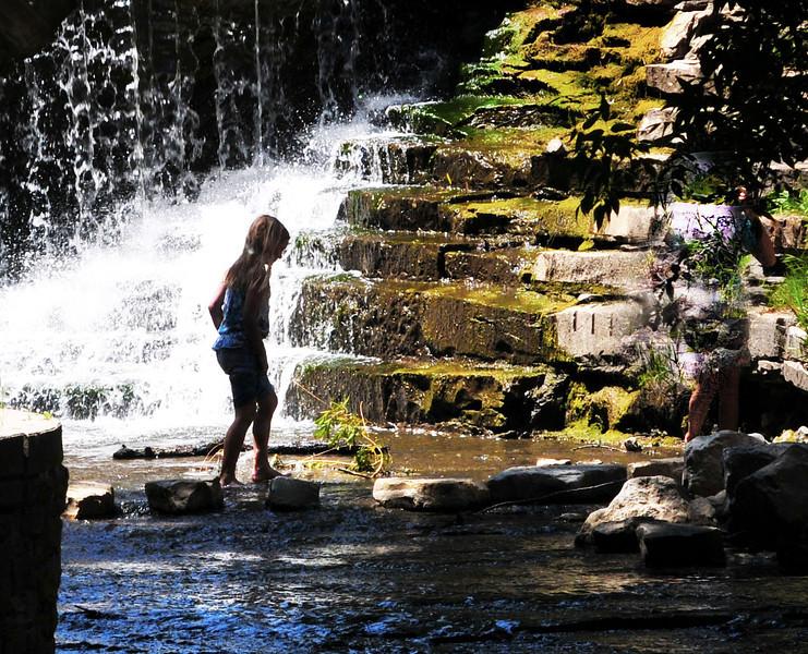 Cooling Off  Waterfall Oakcreek 2  .jpg