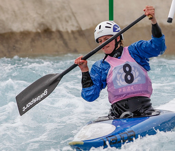 C1 Women - GB Selection Trials 2013 - 2nd Run - Sun - Lee Valley