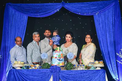 Asvikan First Birthday