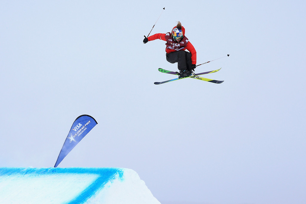 . Grete Eliassen of the United States skis to third place in the women\'s FIS Slopestyle Ski World Cup at the U.S. Snowboarding and Freeskiing Grand Prix on December 21, 2013 in Copper Mountain, Colorado.  (Photo by Doug Pensinger/Getty Images)