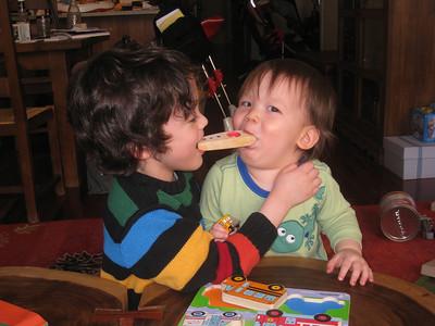 Dylan & Skylar--March 2011