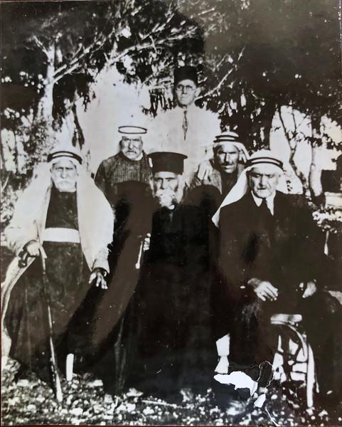 Khoury and Shahin family 1940