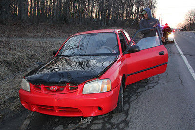 Motor Vehicle Accident, SR309, Hometown (3-27-2013)