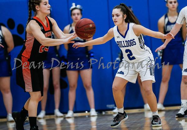 12-30-2018 Lawrence Girls Varsity Basketball Vs Skowhegan