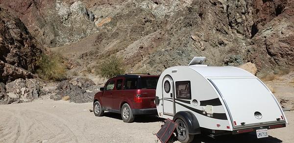 Slot Canyon Camping