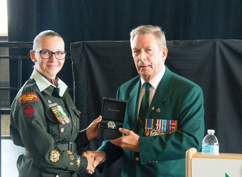Army Cadet Voyage in History Graduation Ceremony at the National War Museum in Ottawa on August 4, 2017  Photo credit: Captain Grant Cree, Unit Public Affairs Representative. Connaught Cadet Training Centre.  Credit Photo: capitaine Grant Cree, représentant des affaires publiques de l'unité. Centre d'entrainment des cadets Connaught. © 2017 DND-MDN Canada