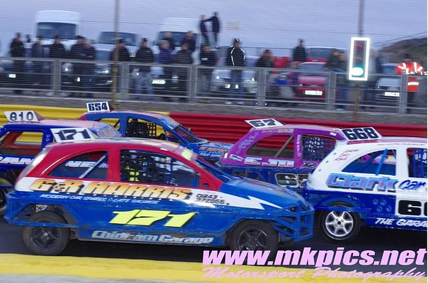 1300 Salon Stock Cars, Lochgelly,
