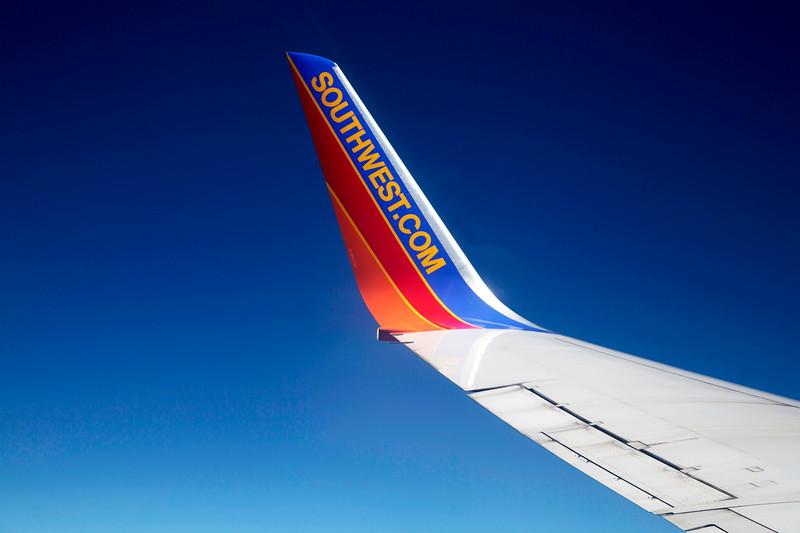 Southwest Boeing 737 winglet