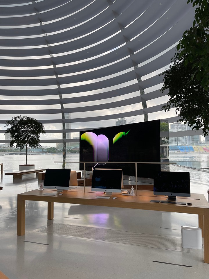 Apple Store at Marina Bay Sands Singapore