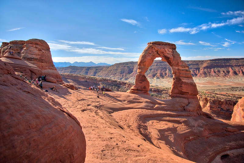 Delicate Arch morning