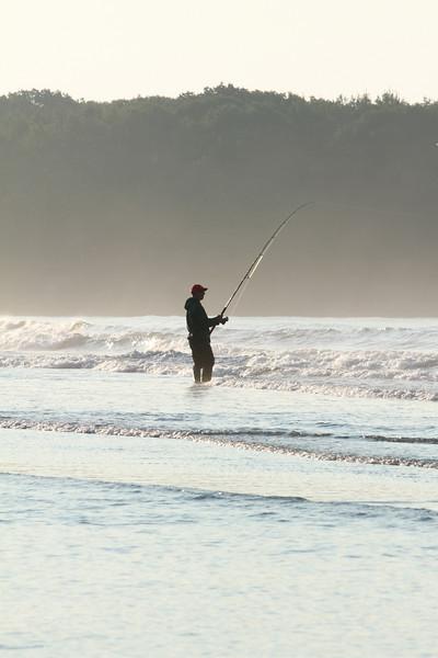 Fishing at Higgins