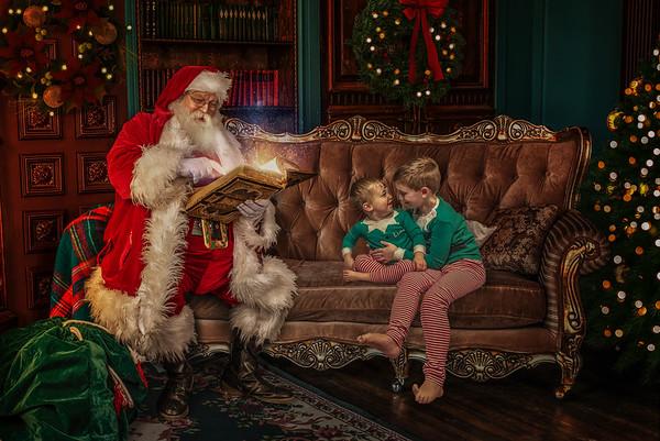 Amanda Rivard Santa Photo