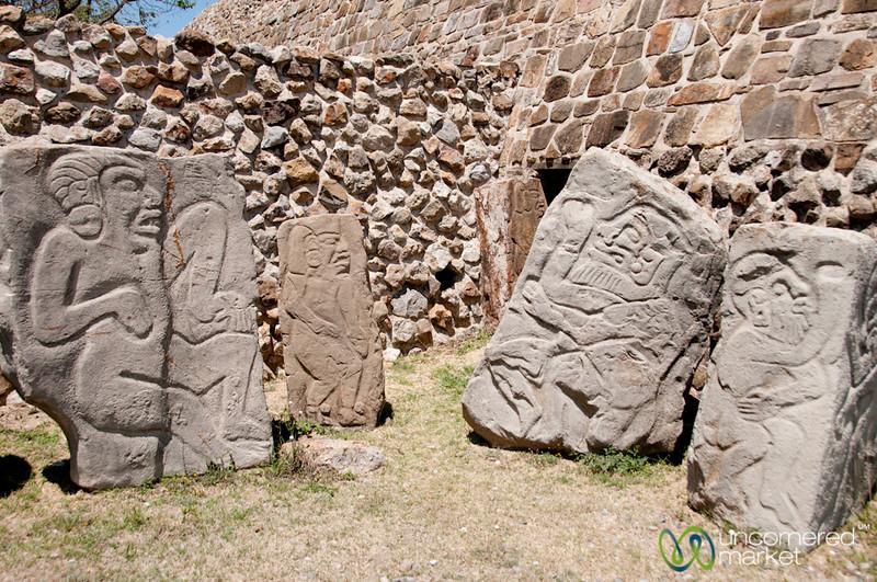 Lax Danzantes, Monte Alban - Oaxaca, Mexico