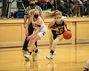 2021 Varsity Girls Basketball:  Hall--Dale vs Maranacook