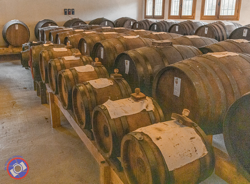 A Batteria of Balsamic Vinegar Casks (©simon@myeclecticimages.com)