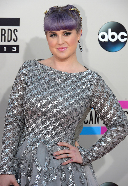 . Kelly Osbourne arrives to the American Music Awards  at the Nokia Theatre in Los Angeles, California on Sunday November 24, 2013 (Photo by Andy Holzman / Los Angeles Daily News)