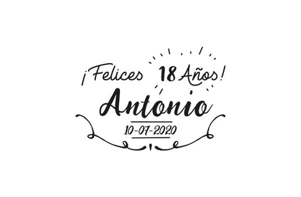 18 Cumpleaños Antonio - 10 julio 2020