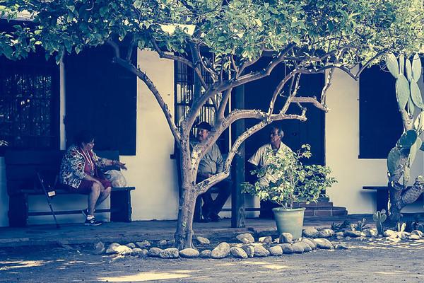 June 18 - Discussion in patio of Ávila Adobe.jpg