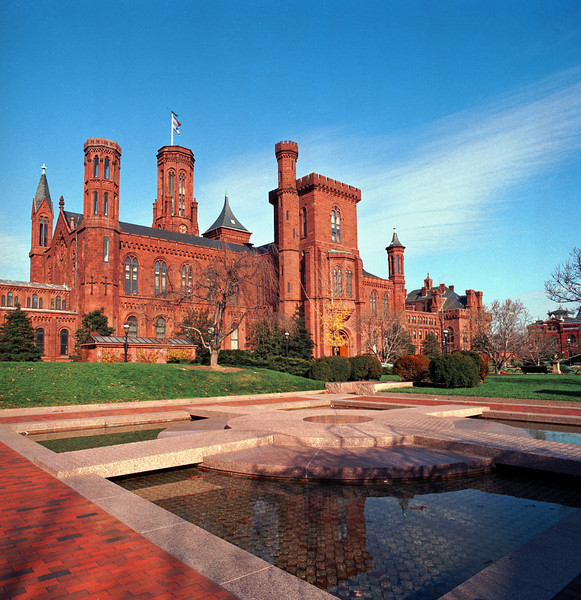 """The Castle"", Smithsonian Institution, Washington, DC"