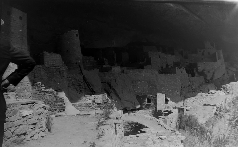 Cliff palace. Mesa Verde NP. 1920s or 30s