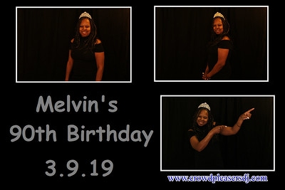 Melvin's 90th Birthday