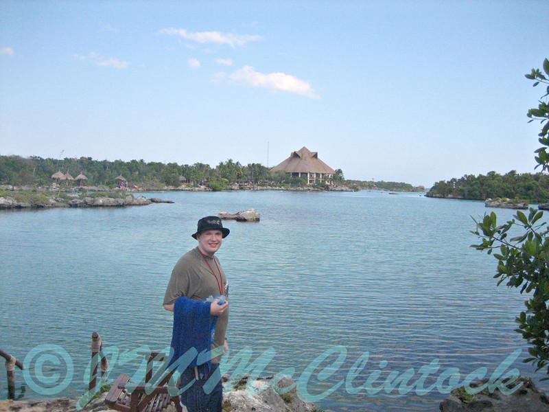James at Xel-Ha
