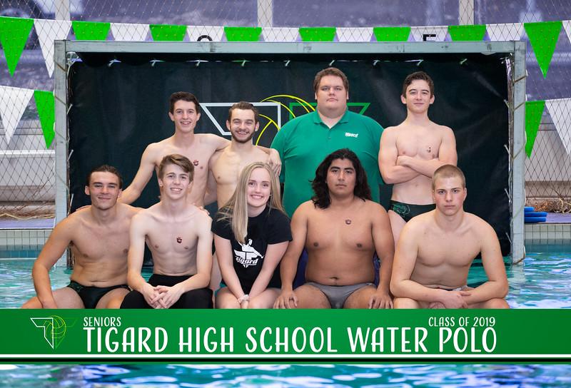 THS Waterpolo Seniors Celebration