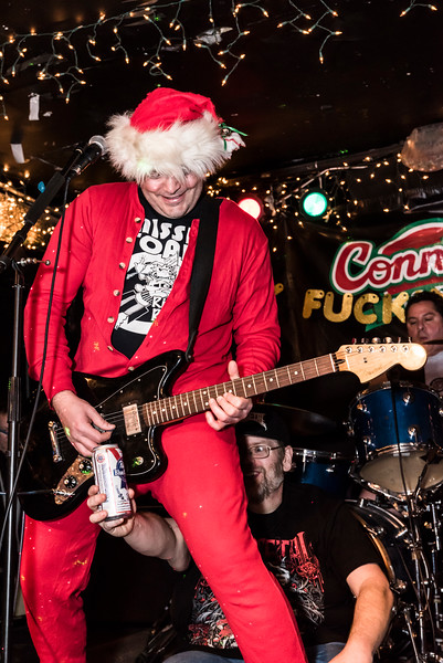 Punk Rock Xmas Spectacle at Connie's! - December 16th, 2017 - Connie's Ric Rac