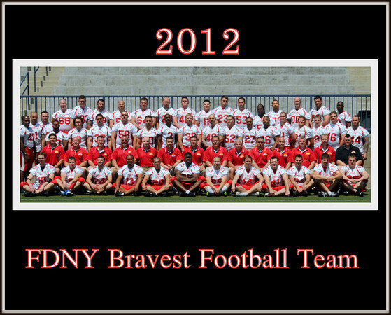 The Bravest Coaching Staff 2012  in  L.A. May 5 2012