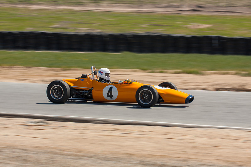 Ford powered formula car