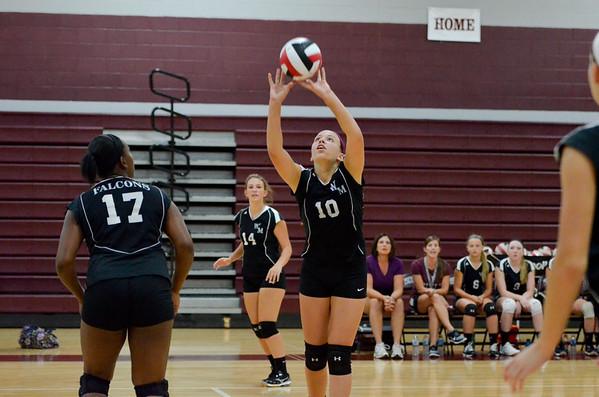 WMHS JV Volleyball vs Walkersville 9_8_14