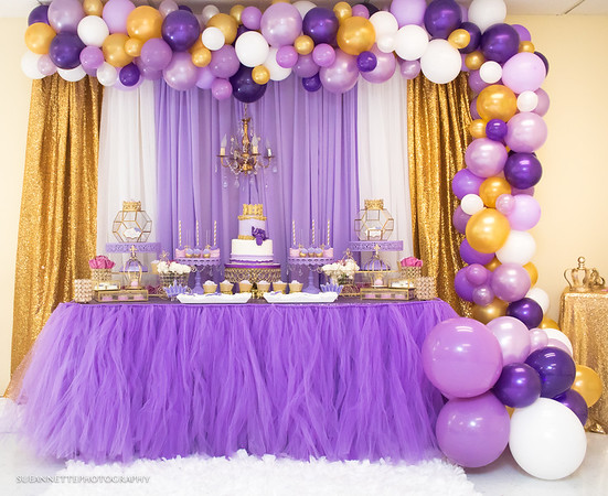 Lavender Princess Baby Shower