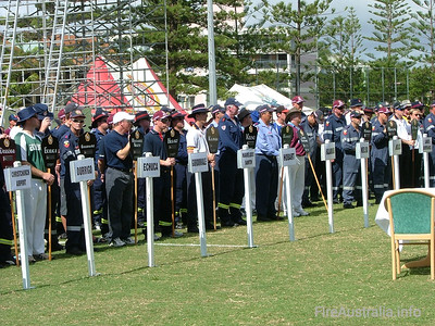 National Firefighting Competition 2006, Gold Coast