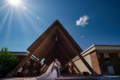 Santa Fe New Mexico June 2020 Wedding Ceremony