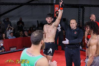 Marcos Marcelo Lloreda  (W) vs Floyd Jones