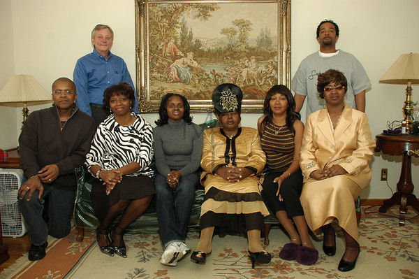 Mother Green's birthday 2008