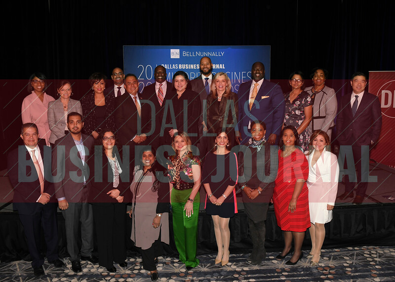 The 2020 class of Minority Business Leaders.