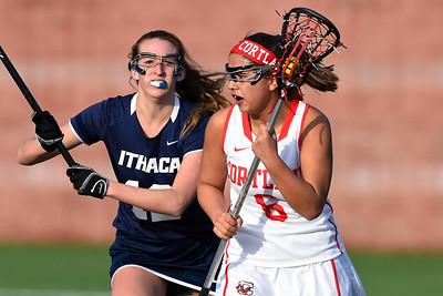 NCAA WLax: IC at Cortland; 3/8/16