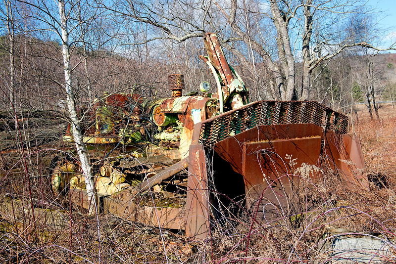 Abandoned Bulldozer    #1059