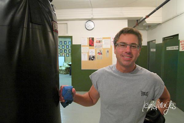 Regina Boxing Club - Oct. 15/12 Training & Sparring