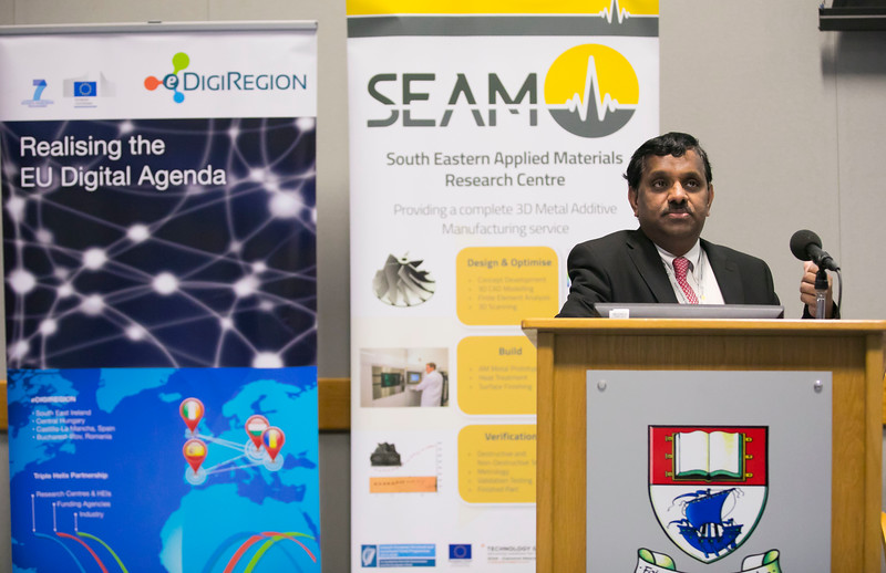03/03/2017. SEAM 'Design for Manufacture' conference. Picture: Patrick Browne