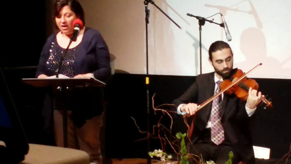 Seminar poetic about the poet Anss Haj and poet Joseph Harb United Nations, 03/26/2014 New York